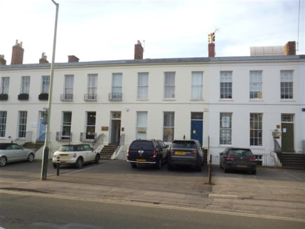 Refurbished offices located close to Cheltenham Town Centre with 2 allocated parking...