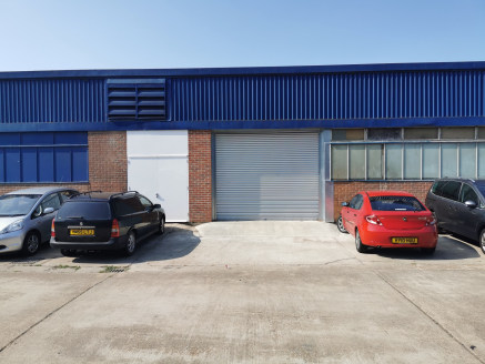 Industrial/Warehouse Unit  Size - 2,766 sq ft
