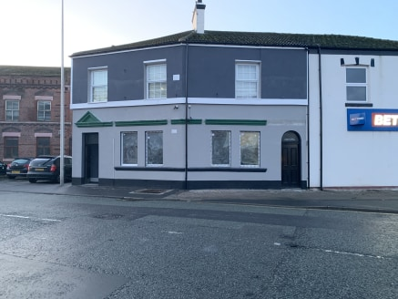 A former bar premises that would be suitable for a variety of different trades (subject to planning consent).   The property comprises a ground floor open plan seating or sales area, with a store, male and female WCS and a cellar.  The open plan area...