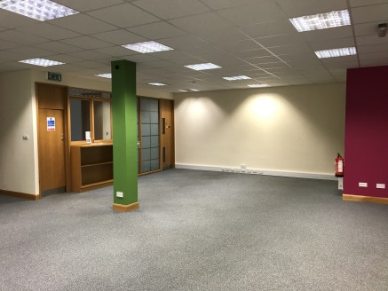 Good quality self-contained ground floor offices within the multi-occupied Cumbria House.<br><br>Predominantly open plan space with 2 no. private offices/meeting rooms with kitchen and wc's.<br><br>The property also benefits from two allocated parkin...