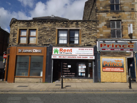 LOCATION\n\nThe property is situated within Burnley town centre on an established retail parade. Nearby occupants include Marks and Spencer's, DW Sports and Subway.\n\nDESCRIPTION\n\nA mid terrace retail premises of traditional stone construction ben...