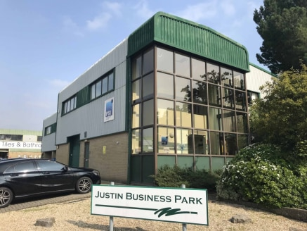 LOCATION Justin Business Park is situated in a prominent position on Sandford Lane approximately one mile from Wareham town centre, close to the A351 Wareham By-Pass giving access to the Bournemouth/Poole conurbation to the east. DESCRIPTION This det...