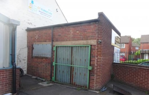 "Location\n\nThe estate is situated on the A457 Sedgley Road West, close to its junction with the A4037 Hurst Lane.\n\nDescription\n\nThe store has brick/blockwork walls surmounted by a flat roof. Maximum height 3.12m (10'3"") approx. No toilets are in..."