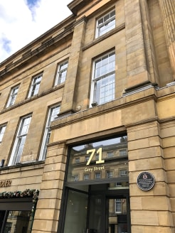 Location  Grey Street is regarded as one of the finest streets in Europe and a sought-after location for office occupiers with many well-known bars and restaurants on the doorstep. The property is on the west side of Grey Street opposite Shakespeare...