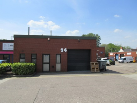 The unit is of single storey with brick/block elevations under a single pitched roof incorporating roof lights. Accommodation is provided with workshop, offices, and w.c. facilities. Access is via a pedestrian door to the front of the unit which prov...