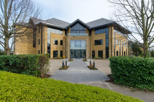 * Striking HQ office building  * Refurbished to Grade A specification  * New VRF Air Conditioning  * Capable of occupation at 1:8 sq m occupancy  * 95 Car spaces in total (1:205)  Ground Floor: 5,882 sq ft (546.45 sq m) - AVAILABLE  First Floor: 6,51...