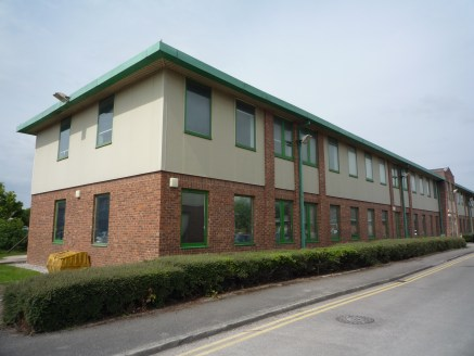UNDER OFFER  Semi detached self contained office over ground and first floors. Total of 6,903 sq ft with 22 car spaces. Adjacent to Wrexham Maelor Hospital  Competitive terms from £11.00 per sq ft