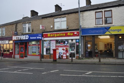 Investment for sale ground floor retail outlet on long lease with separate S/C 2 bedded flat and garage well established trading location...