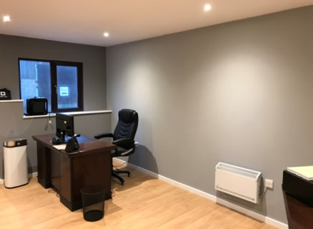 We are pleased to offer this semi rural office for let. RECENTLY REFURBISHED AND AVAILABLE NOW. Unit is on a large industrial estate in a semi rural location with good road links. The space benefits from having AMPLE PARKING ONSITE. Viewings by appoi...