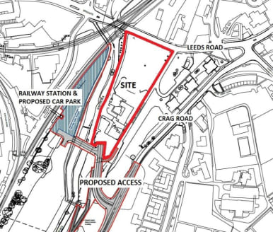 The site comprises a generally level plot of land with open frontage to Leeds Road. The site is suitable for commercial or residential development and is available with vacant possession.