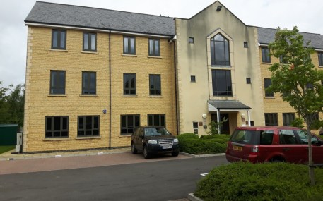 A 3 storey brick built office building. Unit 7 is situated on the ground floor. Double glazed windows with vertical blinds. Gas central heating. Raised floors with carpets and suspended ceilings with Category 2 lighting. Male, female & disabled w.c's...