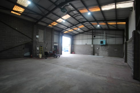 The property is located on the Astley Way Industrial Estate. It is a modern warehouse which benefits from the following features: