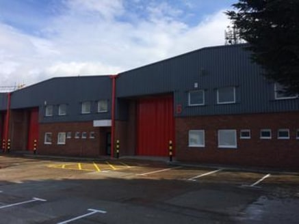 Two warehouse units which are available separately or can be combined to create 12,237 sq ft (gross external area). The properties comprise light industrial/warehouse units of steel portal frame construction with first floor offices to the front (app...