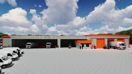 Warehouse and offices undergoing comprehensive refurbishment to a high specification. Warehouse 48,578 sq ft. Two Storey Offices 4,100 sq ft. Extensive service yard. Dock and level access loading. Self-contained site. Available Q4 2019.