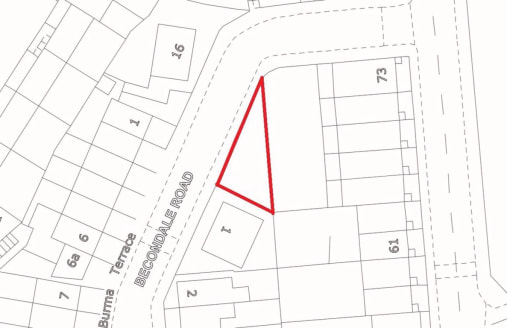 !! PLANNING GRANTED !! .... !! DESIRABLE LOCATION !!   A freehold parcel of land with consent to build a brand new two bedroom dwelling. It is felt that subject to further planning the house could be increased in size