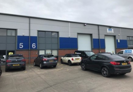 The units are of steel portal frame with pitched roof with part brick, part clad elevations.<br><br>Access to the unit is via an electrically operated roller shutter door to a height of 5m....