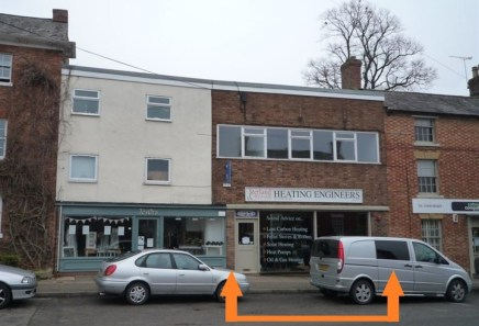 Lock-up Ground Floor Retail Unit  Prominent Location  Popular Market Town  831 sq ft / 77.2 sq m  £8,000 per annum