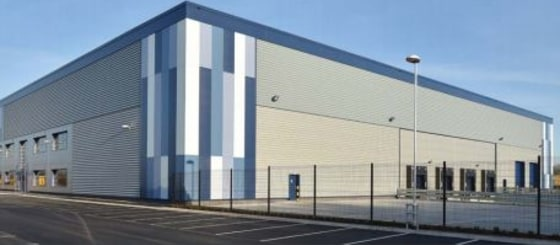 10 m to underside of haunch. Self contained integral offices. 43 car parking spaces. 4 dock loading doors. 2 level access loading bays. Secure site. 'Breeam' very good. Trailer parking.