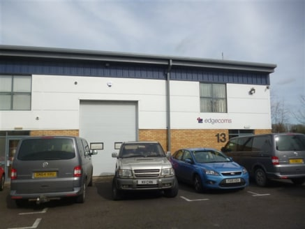 Modern business unit on a popular business park within 1.5 miles of Junction 12 of the M5....