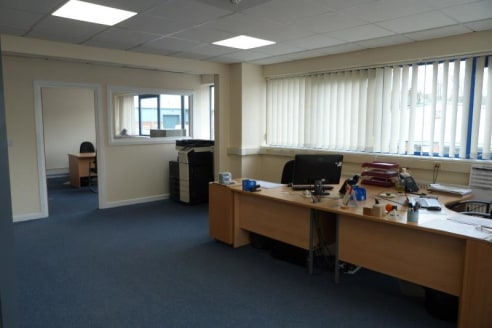 The subject property is situated on Oldfields Business Park which is situated within 400 meters off the A50 dual carriageway linking Stoke-on-Trent through to Derby and the M1 Motorway at Junction 24.\n\nOldfield House is also well positioned for the...