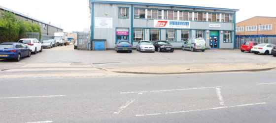 Prominent, detached industrial / warehouse / trade counter building with a secure yard and excellent car parking.