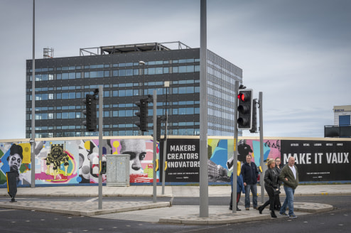 VIBRANT RETAIL AND LEISURE OPPORTUNITIES  THE BEAM is the first building to be developed at VAUX, a ground breaking mixed use development at the home of Sunderland's former city centre brewery.  THE BEAM provides a brand new office building in a pres...