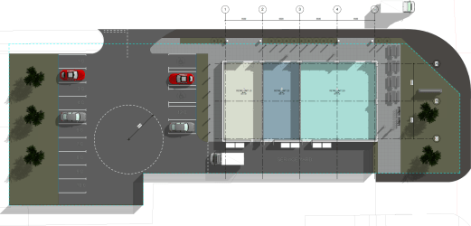 Proposed New Retail Units To Let, Central Park, Newton Aycliffe, DL5 6XF