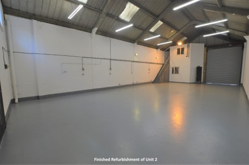 The property comprises a mid-terrace industrial unit of steel framed and brick-work construction under a dual pitched roof.  The warehouse spaces benefits from a single roller shutter loading door to the front, three phase electricity and WC faciliti...