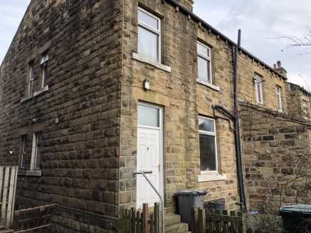 Stone built rear facing one bedroom back to back terrace requiring full modernisation, with private enclosed yard to rear. Of interest to DIY enthusiasts and first time buyers, who must be an individual(s) who intend to use the property as their only...
