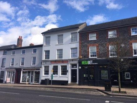 The property comprises the ground floor of a three storey listed town centre building  The retail space trades as a Kebab shop. The property includes full extraction system, basement, suspended ceilings, strip lighting and WC facility.