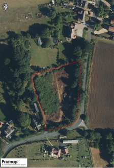 A potential infill plot in the centre of Bricklehampton  1.32 acres  Development potential subject to planning   £225,000