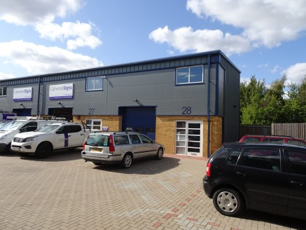 End of Terrace Freehold Industrial / Warehouse Premises  Total GIA 96.6 sq m (1040 sq ft)