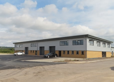 A terrace of four new industrial units available leasehold or...