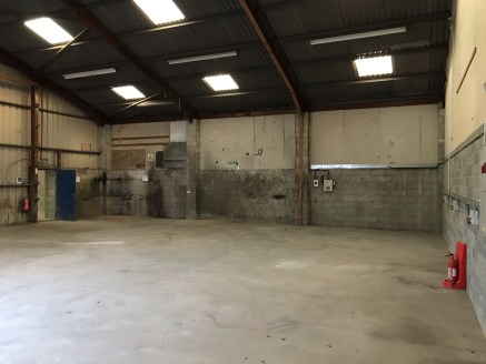 The property provides industrial / warehouse accommodation, extending to 14,424 Sq Ft.  The property is of steel portal frame construction, with part block work and part steel profile sheet cladding, with an eaves height ranging from 4.05m to 4.26m....