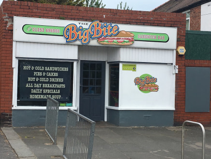 A lock up leasehold shop situated in a busy location on Vicarage Lane at Marton opposite the Welcome Public House. The single storey premises provides an open plan takeaway with a side store and wc. Trading 6 days a week 7am - 2pm Monday to Friday an...