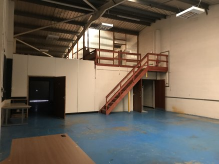 2,003 sq ft unit available  Warehouse with WC, roller shutter and personnel door.   Plentiful car parking on site.  2,003 sq ft  £12,000 per annum