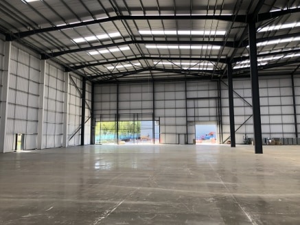 * Exciting new speculative industrial/warehousing development ready October 2019  * Units from 20,000 - 170,000 sq ft  * Another development by Goya Developments  * Potential for D&B units  * Under construction