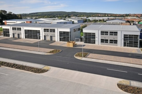TWO STOREY MODERN HYBRID UNIT - GATESHEAD  The properties comprise modern two storey hybrid units which are of steel frame construction with glazed curtain walling and composite cladding to the elevations and a pitched roof of insulated profile steel...
