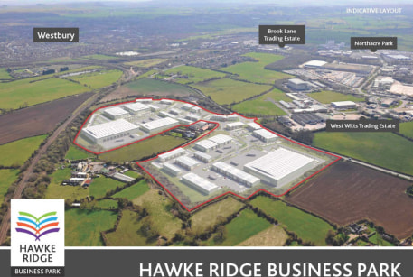 Strategically located 35 acre business park with planning consent for up to 500,000 sq ft for a wide range of uses including roadside, storage, distribution, manufacturing, R&D and offices. Land sales or D&B opportunities...