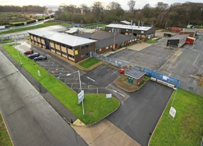 Modern two storey offices with laboratory and manufacturing up to 30,000 sq ft.  Potential sub-division or redevelopment