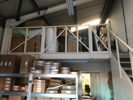 A Pair of Modern Semi Detached Warehouses - For Sale Freehold As One/To Let  Mezzanine Storage Added To Both
