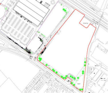 Commercial development land suitable for a variety of uses subject to planning.  UNDER OFFER