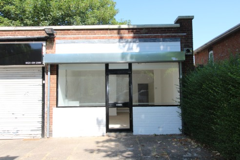 Under Offer]\n\nREFURBISHED retail premises with paved forecourt in BILLESLEY - Total (NIA) - 463 ft2 (43.01 m2)...
