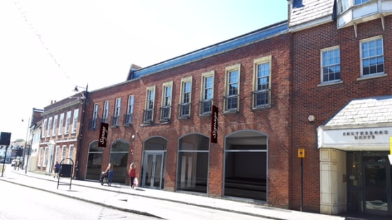 The property comprises a large retail space to the ground floor.  The space is available as One unit of 3,881 sq. ft. or split into a maximum of 3 units.  New shop frontages fronting Bartholomew Street will be installed bringing the line out to the e...