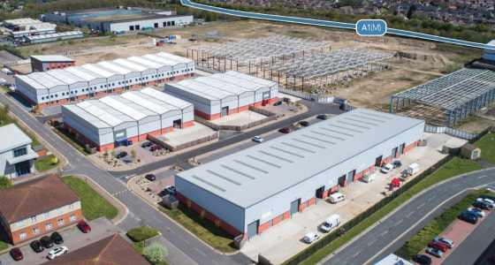 13,342 sqft (1,239 sqm). Yard area. Minimum 7m eaves. Bespoke fit-outs available. Excellent access to A1(M) via Junction 62. Substantial power supply available. Extensive on site car parking available.