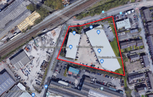 Description\n\nLocation\nThe unit is situated on Magnum Trade Park which is a purpose-built trade counter estate located in Rochdale. The estate is located on the edge of Rochdale Town Centre in a high-profile location close to the intersection betwe...