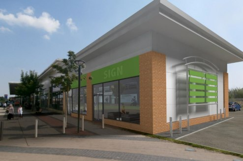<p>A local convenience parade of 8 retail units with offices above sited next to a large Tesco.</p><ul>  <li>Prominent position with vehicular access off Greenwell Road</li>  <li>Adjacent to a new Dominos and opposite Aldi</li>  <li>Direct Pedestrian...