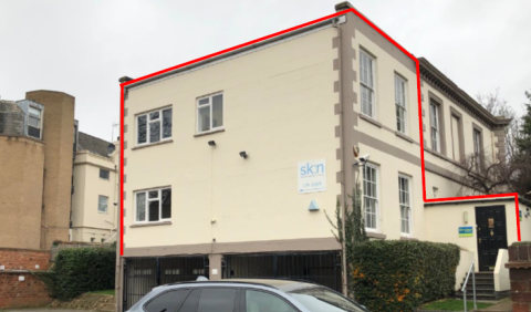 The premises comprise a two-storey office building located on Cheyne Walk, Northampton. The property benefits from gas fired boiler and associated radiators and fluorescent strip lighting.\nThere are 2 allocated car parking spaces at the rear....