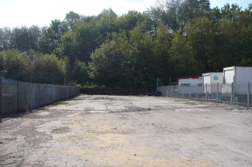 A secure, surfaced compound, with concrete base, located on the secure Hendham Vale Industrial Estate site.  A power supply is available to the yard and communal facilities are available on site.
