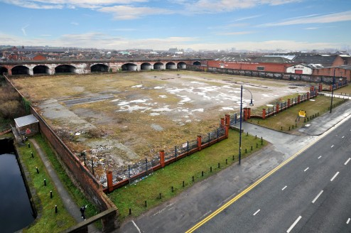 LIVERPOOL - GREAT HOWARD STREET- TO LET. Land fronting Great Howard Street - 3.6 acres.